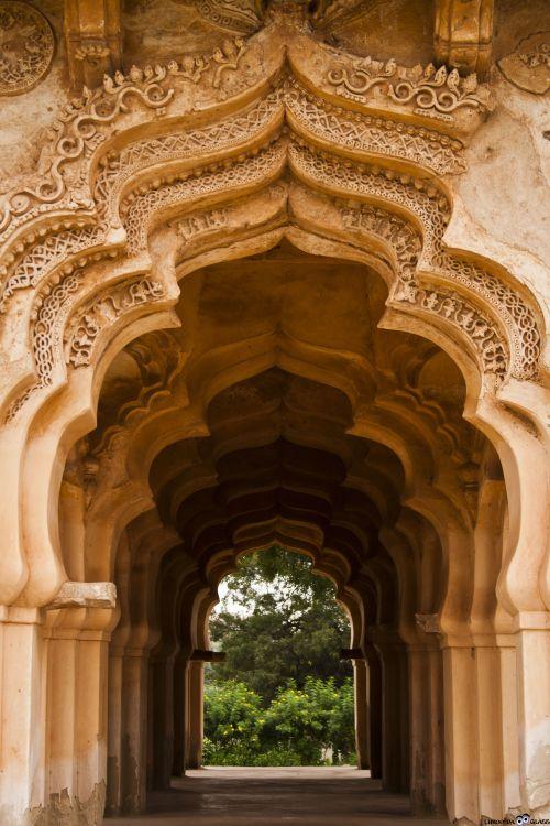 Lotus Mahal, Hampi,Architecture,tuesday,myworld