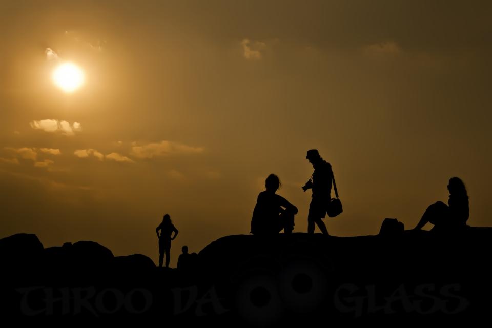 E,exquisite,a-z,hampi,silhouette,evening,sunset,pm,phenomenon,throo da looking glass,sun.pravin
